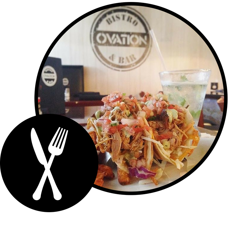 Ovation Bistro & Bar – Located in 3 Central Florida locations ready